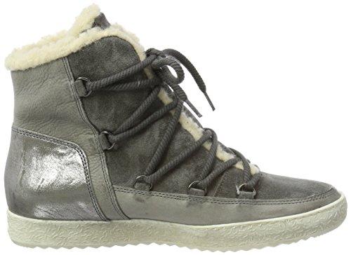 Paul Green Ladies Stivaletti Alta Sneaker Grigio (pietra)