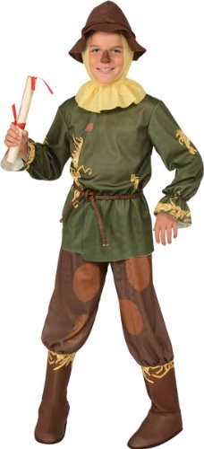 Wizard Of Scarecrow (Wizard of Oz Halloween Sensations Scarecrow Costume, Small (75th Anniversary Edition))