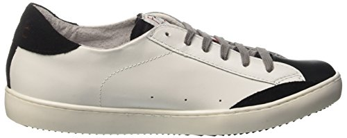 Low Adults' Pumps 846 Bianco Nero Unisex F By Fake Chiodo Bianco Flatform 8Yqwx1E