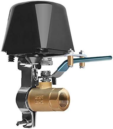 SNOWINSPRING TUYA WiFi Smart Gas Ventil Smart Haus Automation Steuer Ventil f/ür Gas Arbeiten mit Alexa Assistant IFTTT EU Stecker