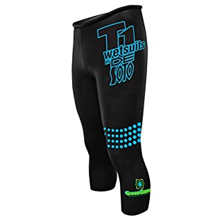 De Soto T1 Speed Tube Pant Triathlon - ST3-2020 (Black, 3)