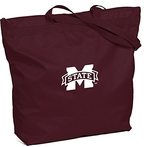 Mississippi State Gym Bag Bulldogs (Mississippi State Bulldogs - NCAA Zippered Tote Bag)