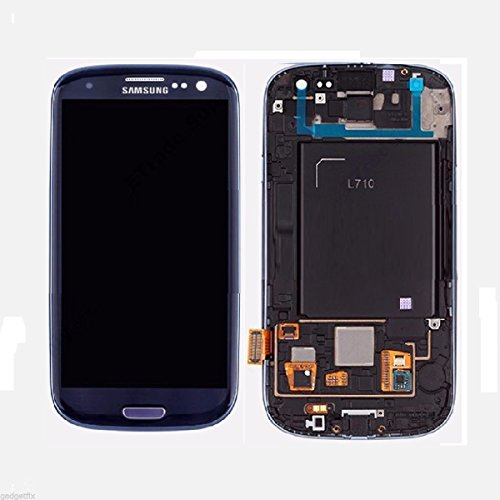 LCD & Digitizer Frame Assembly for Samsung Galaxy S3 (w/ Home Button) (L710) - Blue