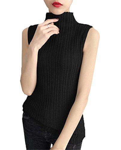 COCO bordeaux clothing Taille Rouge Femme Unique Pull Noir IwIdBrHqn