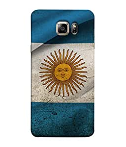 ColorKing Football Argentina 18 Multi Color shell case cover for Samsung S6 Edge