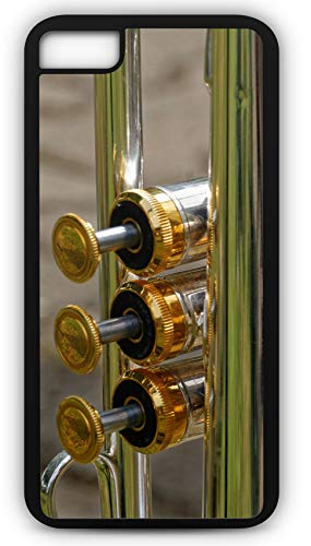 iPhone 6s Case Trumpet Brass Band Instrument Marching Half Time Customizable by TYD Designs in Black Plastic