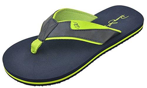 Panama Jack Mens Casual Sandal Flip Flops Dark Blue HGu65LoN