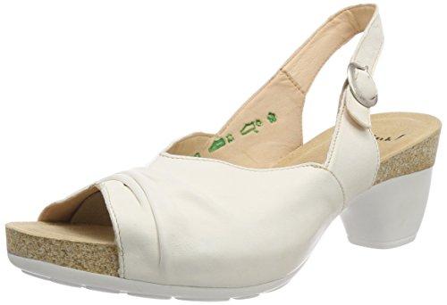 Think! WoMen Traudi_282571 Sling Back Sandals, Black White (Ivory 95 Ivory 95)