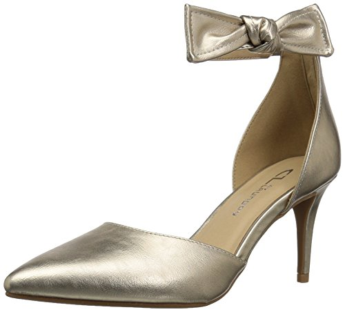 CL by Chinese Laundry WoMen Outgoing Pump Gold Moonlight