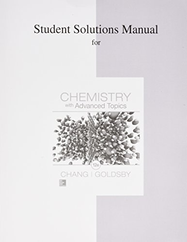 Chemistry W/Adv.Topics Stud.Soln.Man.