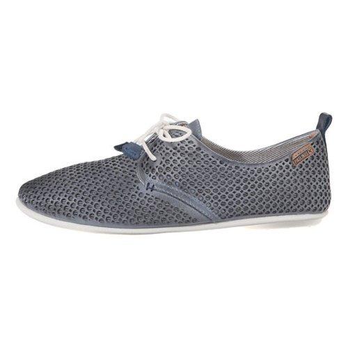 Zapato Pikolinos De Piel Azul 917-4549 35 EU|Azul