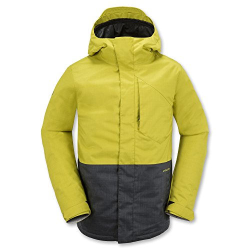 Volcom Men's Retrospect Insulated Jacket, Citronelle Green, ()