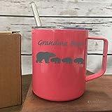 Grandma Bear Coffee Mug Lucky Grandma Best Grandma Ever Christmas Gift Coffee Drinker Gift For Coffee Drinker Drink Coffee Gift