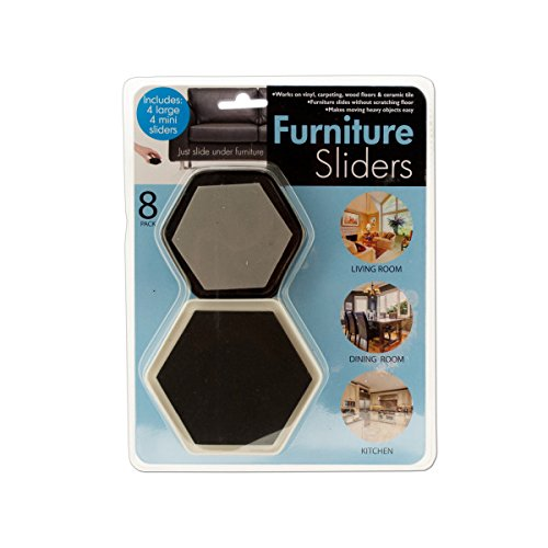 Furniture Sliders With Foam Padding - Pack of 48