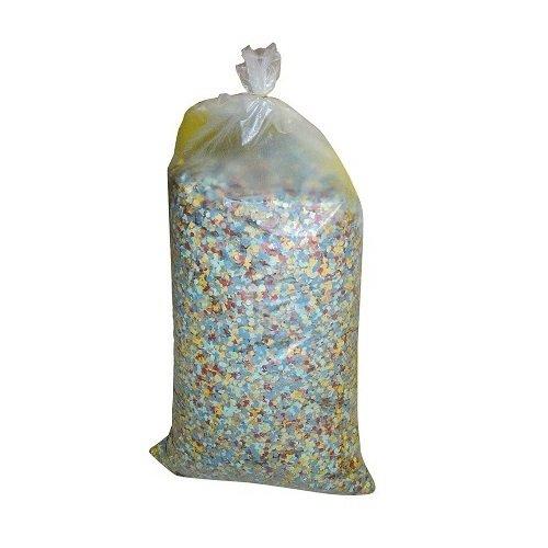 Lot 10 Sac de 5kg de Confettis soit 50kg pour Soirée Carnaval Multicolore LCN
