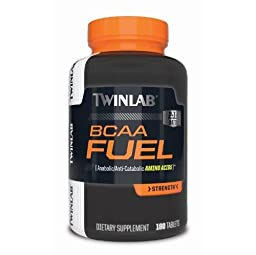 Twinlab BCAA Fuel, 180 Tablets
