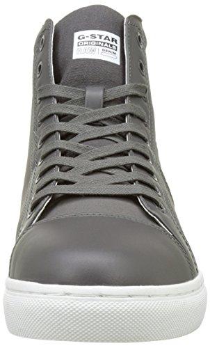 G Star Toublo Mid, Zapatillas Altas para Hombre Gris (Gs Grey 1260)
