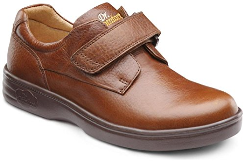 Dr. Comfort Maggy Women's Therapeutic Diabetic Extra Depth Shoe: Chestnut 8 X-Wide (E-2E) Velcro by Dr. Comfort