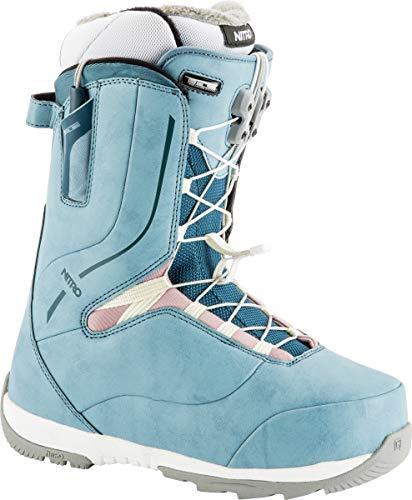 Nitro Crown TLS Snowboard Boot (Blue, 7) - Women's