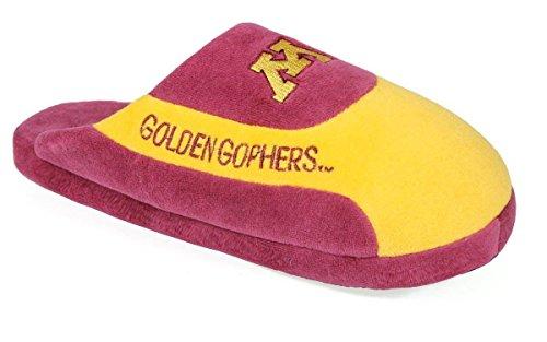 Happy Feet Menns Og Kvinners Offisielt Lisensiert Ncaa College Lave Pro Tøfler Minnesota Gylne Gophers