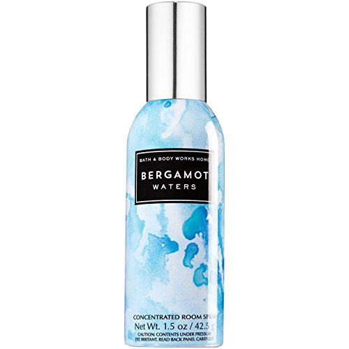 Bath & Body Works Room Perfume Spray Bergamot Waters - Fragrance Concentrated Home Spray