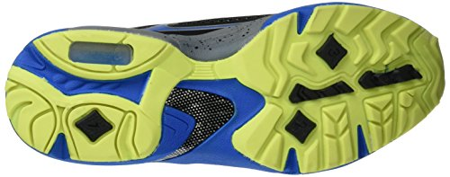 Bruetting Limit, Zapatillas Deportivas Para Interior Unisex Adulto Gris (Anthrazit/blau/lemon)