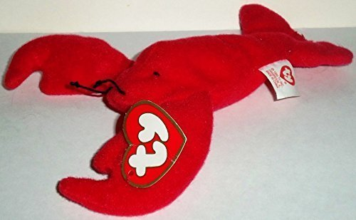Collectibles Meal Happy (1998 McDonalds Happy Meal Toy Ty Teenie Beanie Babies #5 Pinchers the Lobster Plush Collectible)
