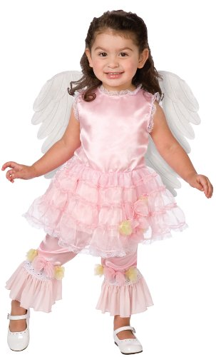 Lilac Angel Toddler Costume (3-4) (Lilac Angel Toddler Costume)