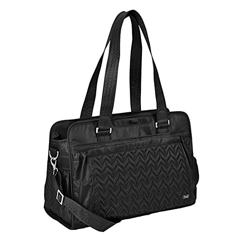 (Lug Caboose Carry All Bag, Midnight Black, One Size)