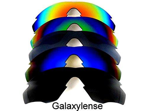 Frame De amp; vert regular noir Transparent Oakley amp; rouge amp; M2 Paires amp; Rechange 5 polarisé Verres bleu titane Pour Ax7dwqqX