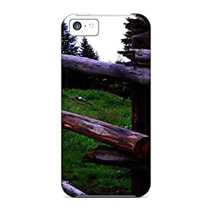 New Premium Maria N Young Wooden Fence Skin Case Cover Excellent Fitted For Iphone 5c by icecream design