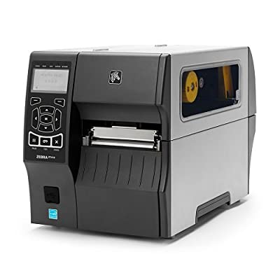 Zebra ZT41043-T010000Z ZT410 Industrial Thermal Transfer Table Top Printer, 300 DPI, Monochrome, With 10/100 Ethernet, Bluetooth 2.1, USB Host from Zebra Technologies