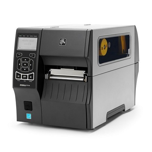 [ZT41042-T410000Z] Zebra ZT410 Thermal Transfer/Direct Thermal Printer(203DPI/Tear Bar/Rewinder)