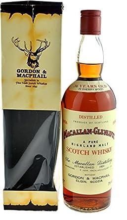 Rareza: The Macallan Whisky año 1936-36 años - 0.7l original embotellado con papel de regalo - Pure Highland Malt Scotch Whisky: Amazon.es: Alimentación y ...