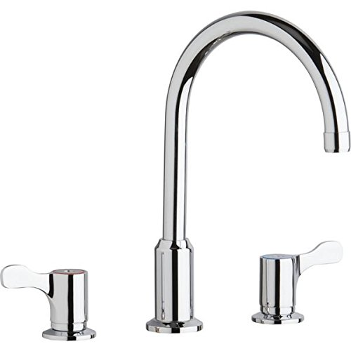 Elkay LKD2439C Concealed Deck Mount Faucet with Arc Spout and 2-5/8