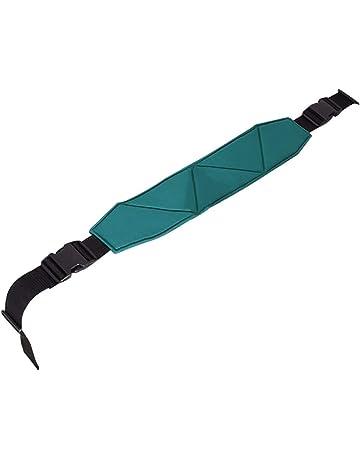 QEES Cinturón ajustable para silla de ruedas, cinturón de cojín suave para cama con arnés