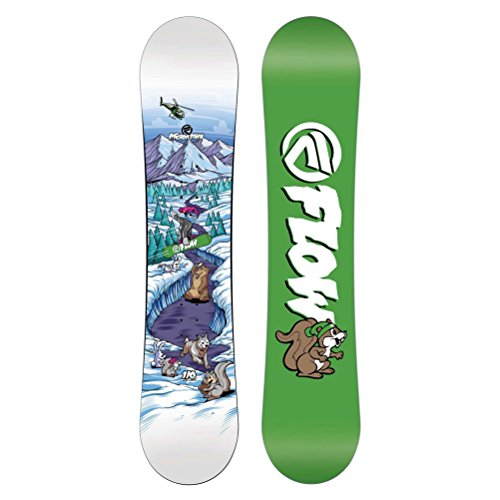 Flow Micron Mini Boys Snowboard - 110cm (110cm Snowboard)