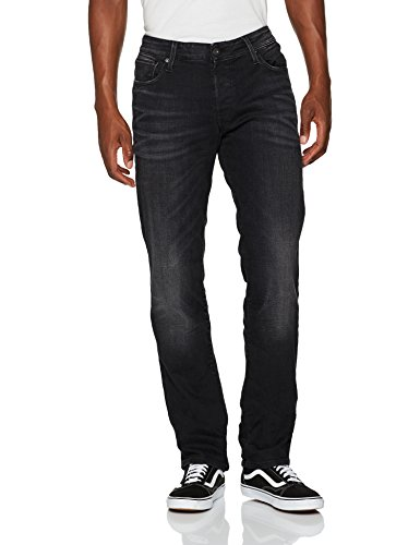 amp; black Jack Uomo Jones Nero Jeans Denim Straight dwT6zq