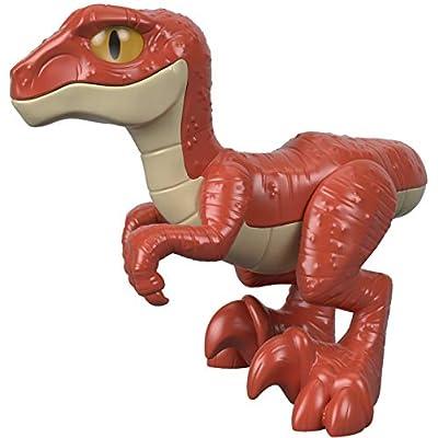 Fisher-Price IMAGINEXT Jurassic World Raptor: Toys & Games