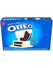 White Fudge Covered Oreo Cookies, 332.8 gr, 1 Pack