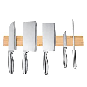 Soporte magnético para cuchillos Lesfit multiusos de pared ...