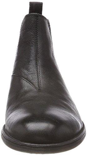 Geox U Jaylon A, Stivali Chelsea Uomo Nero (Black)