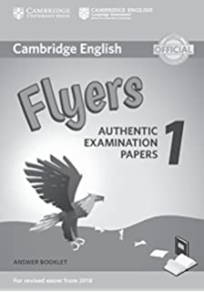 Amazon cambridge english flyers 1 for revised exam from 2018 cambridge english flyers 1 for revised exam from 2018 answer booklet authentic examination papers fandeluxe Choice Image