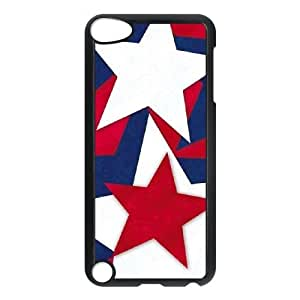 Durable Hard cover Customized TPU case Patriotica iPod Touch 5 Case Black