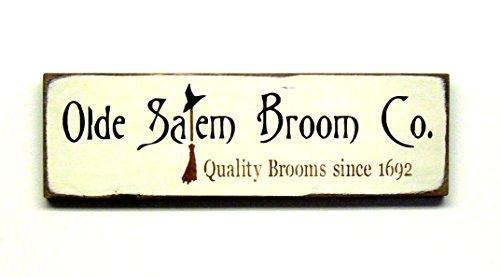Halloween Witch Sign - Witch Sign ~ Halloween Sign ~ Fall Decor ~ Harvest Autumn Sign ~ Olde Salem Broom Co ~