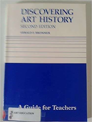 Book Discovering Art History (Teachers Guide) by Gerald F. Brommer (1988-06-06)