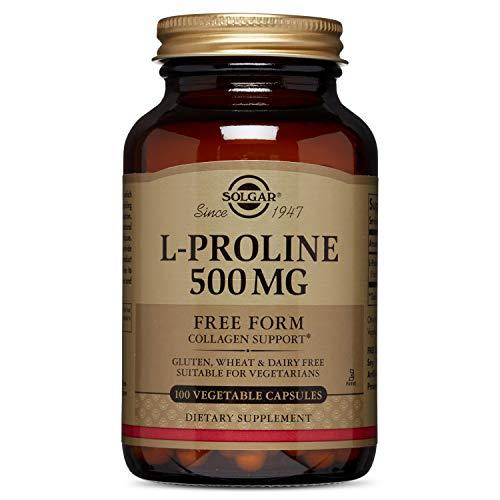 Solgar - L-Proline, 500mg, 100 veggie caps