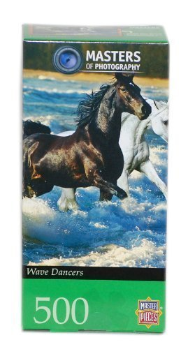 Master Pieces Masters of Photography Wave Dancers Jigsaw Puzzle by Master Pieces