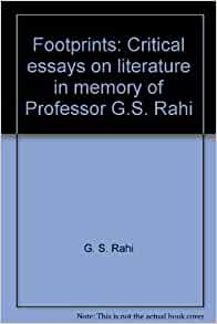 critical essays literature