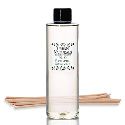 Urban Naturals TOP Stress Relief Eucalyptus Spearmint Reed Diffuser Oil Refill